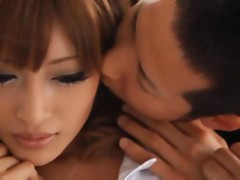 Kirara Asuka gets a facial cumshot as a reward for her fucking talent
