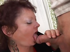 Cypher the old lady gets her ass fucked hard and deep