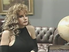 Patricia Kennedy seduces a detective and fucks him
