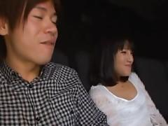 Naughty Rola Aoyama Fucks Her Boyfriend At A Movie Theater