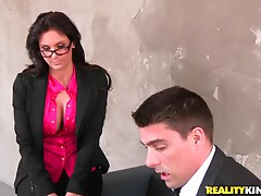 Nasty milf Phoenix Marie gets fucked in missionary position