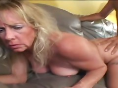 Lovely Granny fucks and sucks!