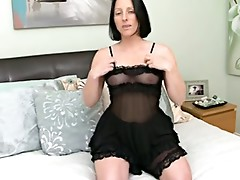 Mommy Touching Her Pussy