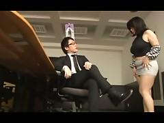 (mature secretary)Big Ass and Tight Skirt