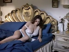 Damn sexy Kay Parker seducing her son