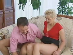 Mature Ladies fuck Young Guy!