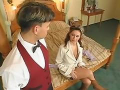 Constance Devil big boobs milf get a young cock troia