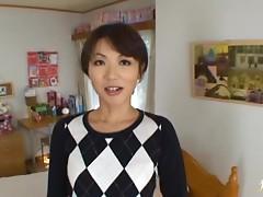 Risako Komatsu MILF banged hard with thick cum facial