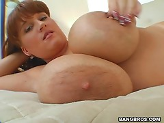 Brandy Dean Strikes With Her Big Tits in Hardcore Sex