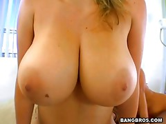 This video is about very lucky guy who fucks two busty babes
