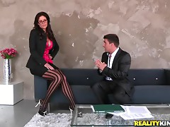 This video contains nasty hot banging between co-workers