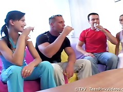 Angel & Mili Foursome Swingers Party With Fucking
