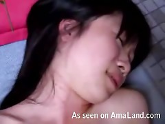 Asian homemade porn tape full of blowjobs, fingering and fucking