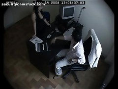 Salacious secretary knows her duties with boss's cock very well