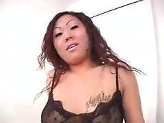 Busty Asian milf likes to titjob cocks most off all