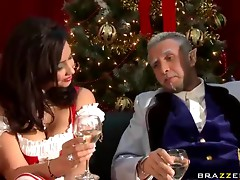 A Very Naughty Xmas in Brazzers Style