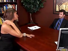 Dirty Boss Caught Fucking Gorgeous Madelyn Marie