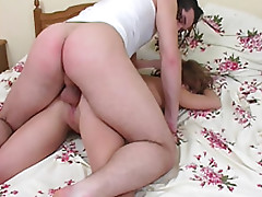 Naked drunken girl can't control her body