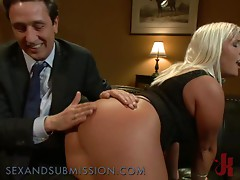 Busty Blondes Gets in a Sexy BDSM Party as the Main Course