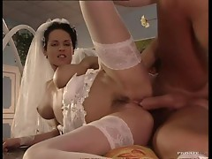 Two Newly Married Couples Fuck Hard Side By Side
