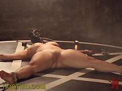 Blonde Is Masked & Pussy Tortured