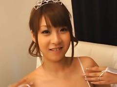 Hitomi Kitagawa In a Very Sexy Wedding Night