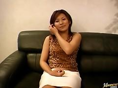 Shizu Umemiya Masturbates Alone