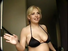 Insanly Hot Pregnant Blonde Krista Leigh In Fucked In A Threesome
