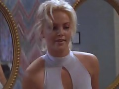 Stunning Charlize Theron Wears A Sexy Dress In Hot Scene