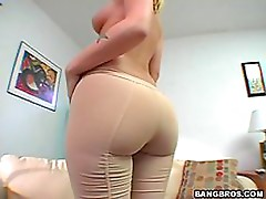 Camel Toe Blonde Hollie Stevens Is Fucked By A Hard Cock