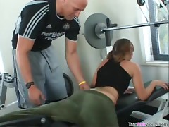 Foxy Loretta Loren Wants To Get Fucked Hard By Her Gym Instructor