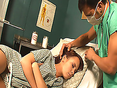 Horny Doctor Fucking A Very Hot Patient While She Sleeps