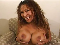 Hot Asian MILF Saki St. Jermaine Gives A Blowjob