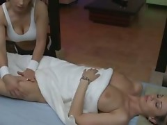 Anita and Tania have pleasure together