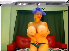 Big fake tits webcam II