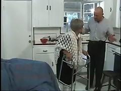 Granny loves multiple cocks