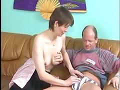 Grannies  loves younger men's cum