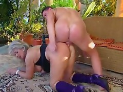 Granny Karola anal sex