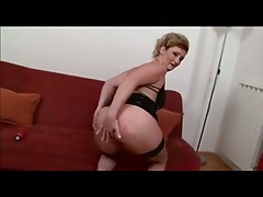 Granny in Black Fucks