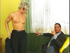 Hot blond german mature fucked
