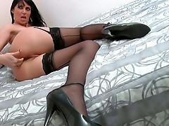 Eva Karera getting her anus gaped by Mark Wood