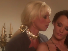 Awesome milfs Alektra Blue and Tanya James makee out and eat pussies