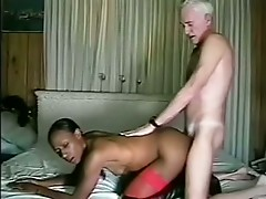 Black fuck by old
